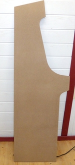side panel from 19 mm MDF board
