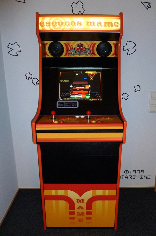 Arcade Cabinet Front