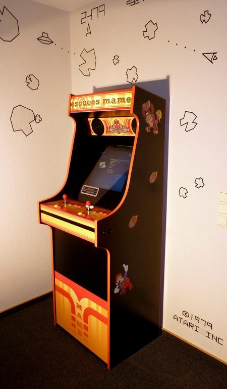 Mame Retro Arcade Cabinet