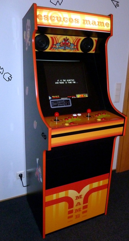 klompde  Retro Mame Arcade Cabi  Build your own