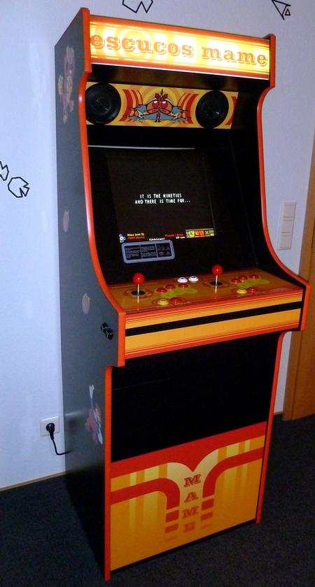 Terrific Mame Retro Arcade Cabinet Videospielautomat Selber Bauen Download Free Architecture Designs Rallybritishbridgeorg