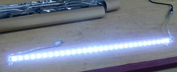 LED light bar for the marquee. If one 50 cm element won't be enough, I can cascade another element