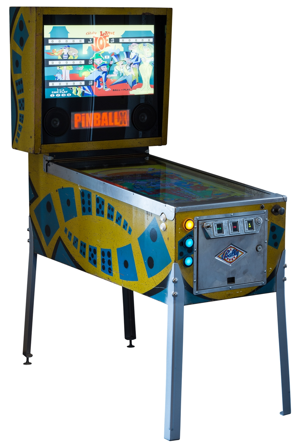 klomp.de - Homemade Virtual Pinball VPin - Build your own virtual ...