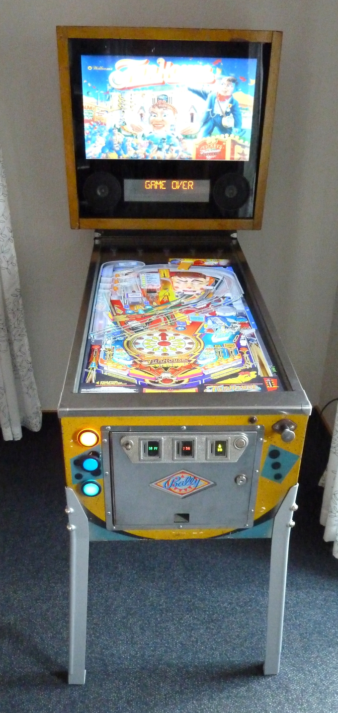 Homemade Virtual Pinball Cabinet